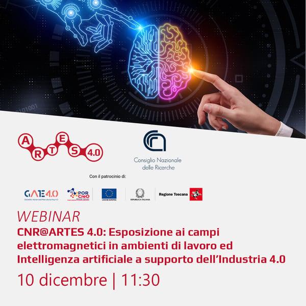 Webinar 10 dicembre - ARTES 4.0 e CNR