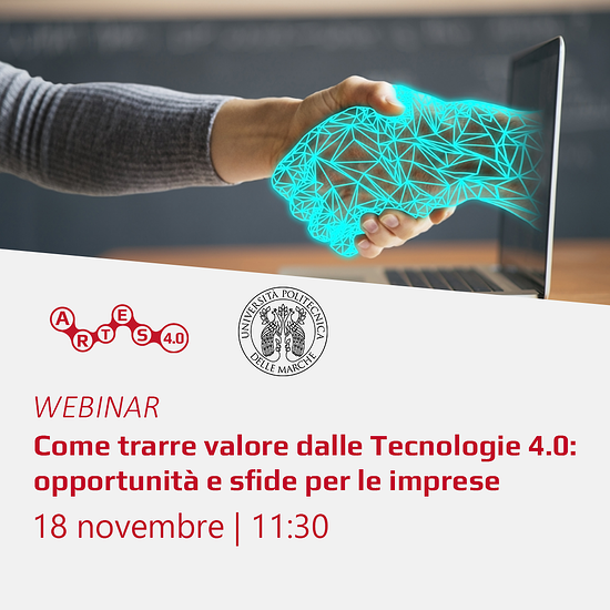 Webinar 18 novembre - ARTES 4.0