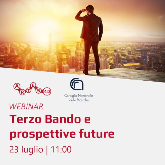 Webinar Terzo Bando e prospettive future - ARTES 4.0