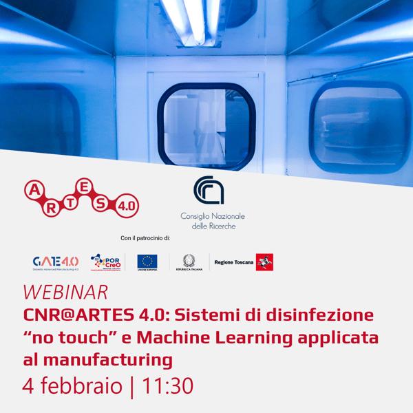 Webinar 4 febbraio - ARTES 4.0 e CNR