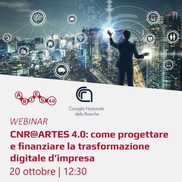 Webinar 20 ottobre - ARTES 4.0 e CNR