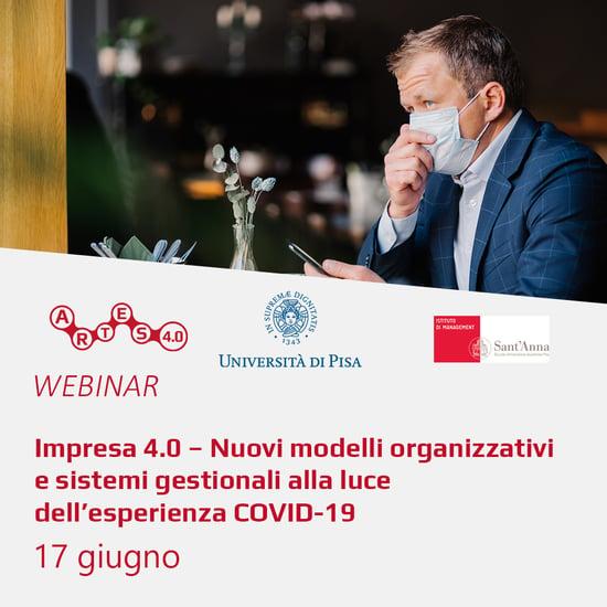 Webinar 17 giugno - ARTES 4.0 e Università di Pisa