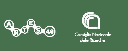 Logo ARTES 4.0  e CNR