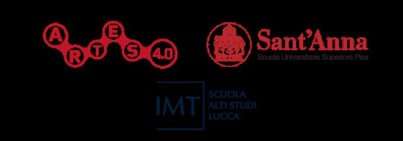 Loghi - Artes 4.0 - SSSA - IMT Lucca