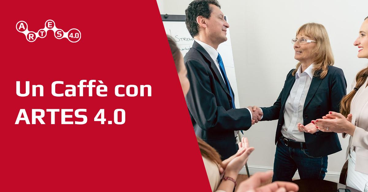 Banner Un caffè con ARTES 4.0