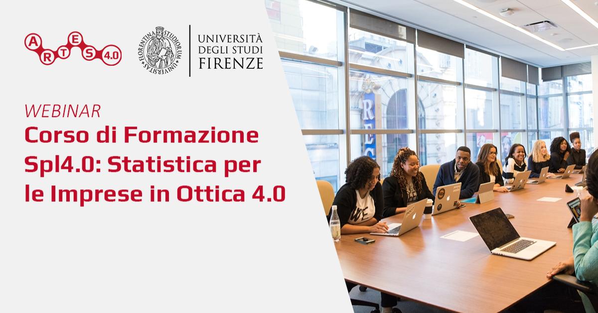 Webinar sul Corso di Formazione Spl4.0 - ARTES 4.0