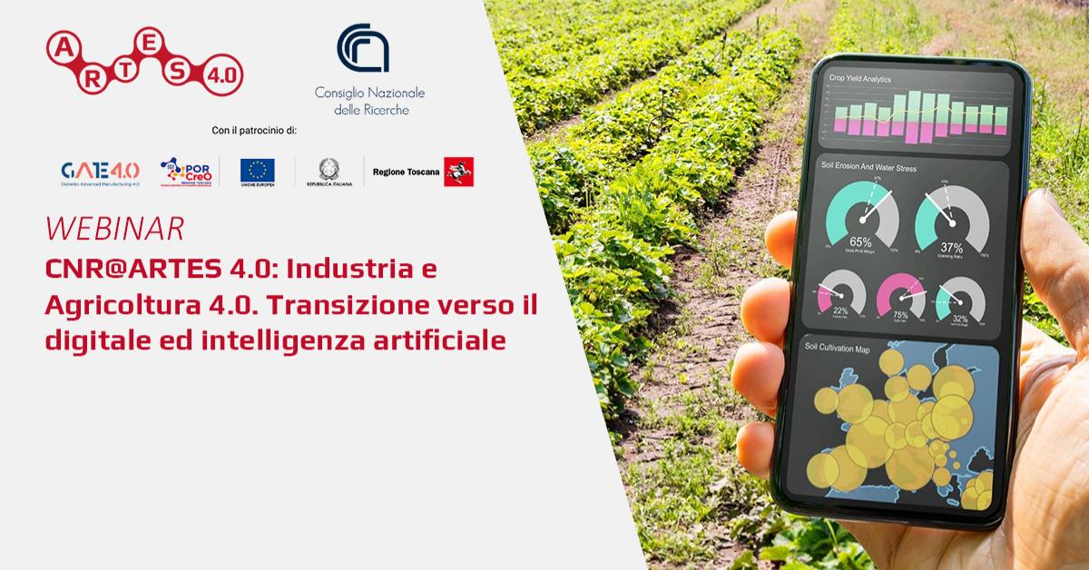 Webinar su Industria e Agricoltura 4.0  - ARTES 4.0