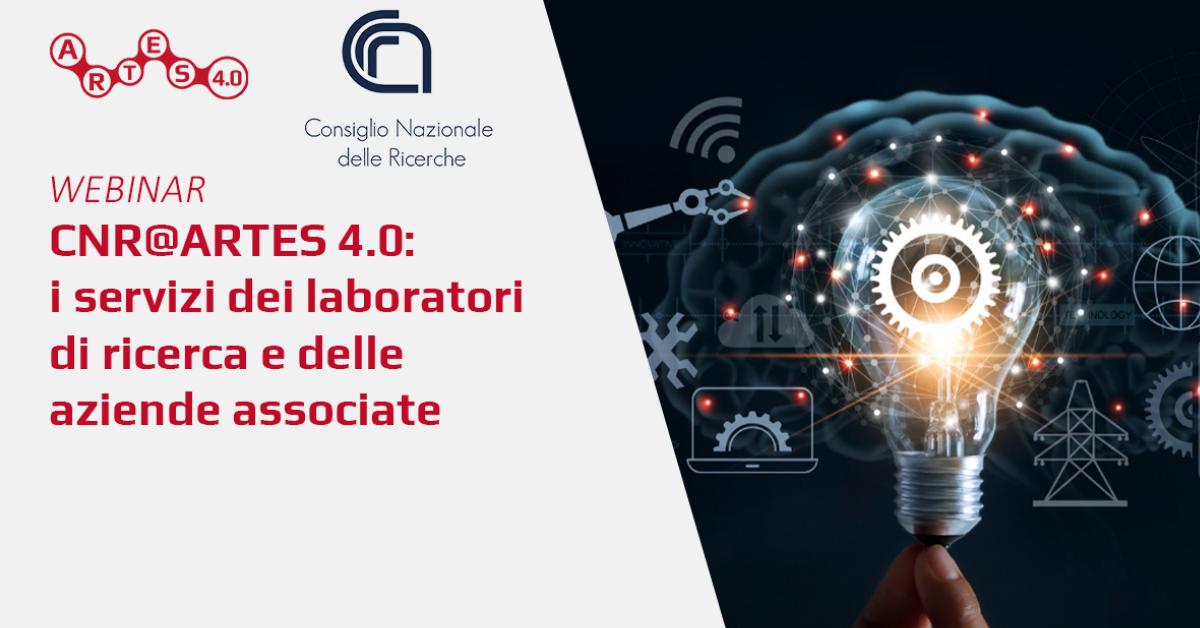 Webinar CNR@ARTES 4.0 - ARTES 4.0