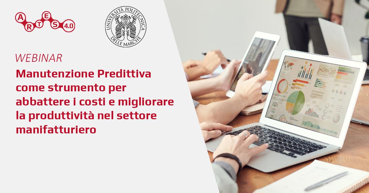 Webinar su Manutenzione Predittiva - ARTES 4.0