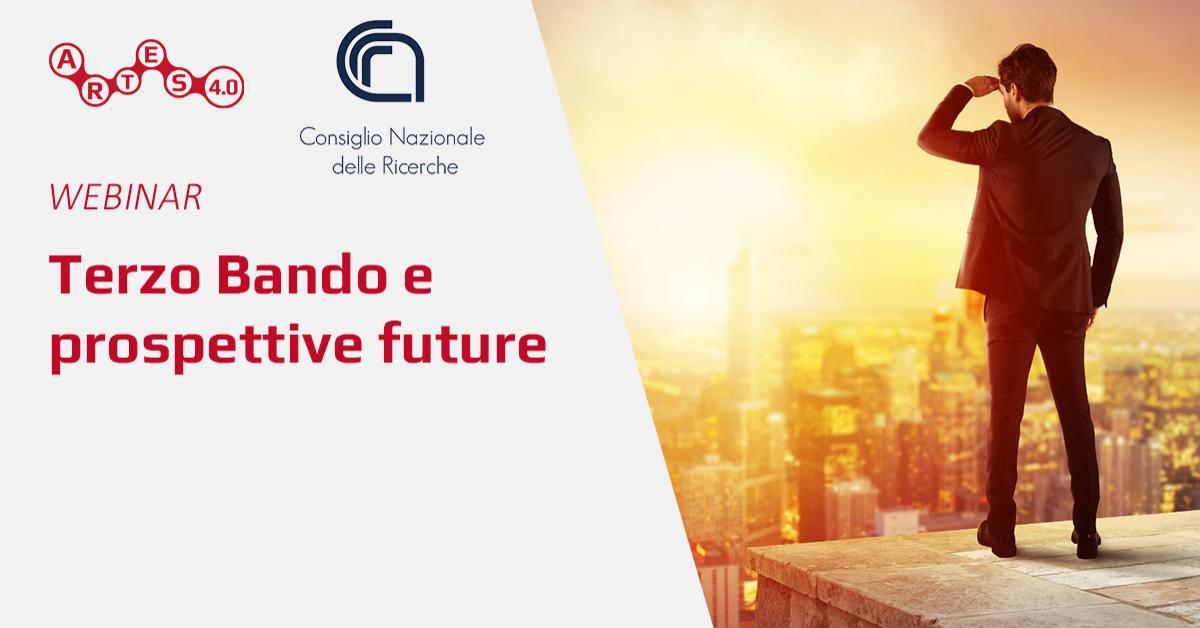 Webinar su Terzo Bando e prospettive future - ARTES 4.0